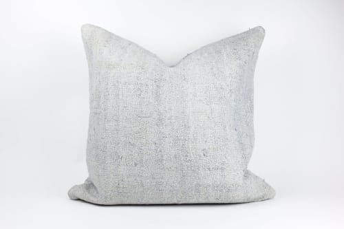Double Sided Vintage Hemp Pillows | Pillows by HOME