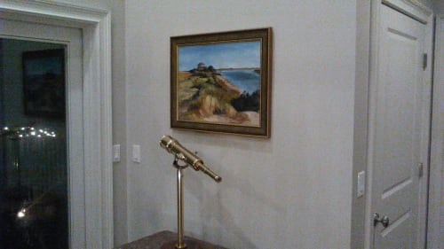 Paintings by Keith Doles seen at Private Residence, St. Augustine - Land's End