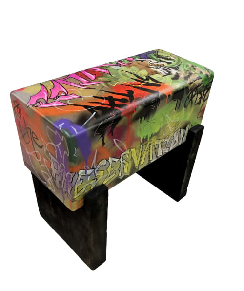 "Benches & Ottomans by Andi-Le seen at Aspen, Aspen - Thoreau ""Wildness"" Bench/Seat"