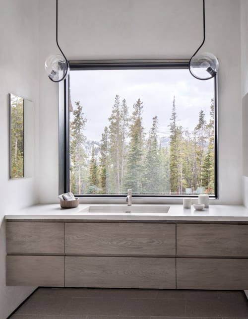 Pendants by Designlush seen at Private Residence, Big Sky, Big Sky - Pendants