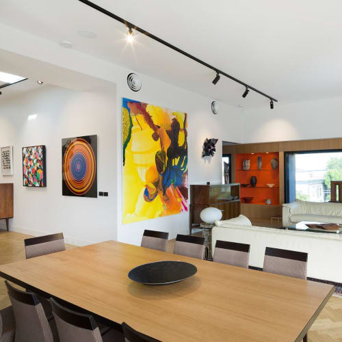 Paintings by Paul Snell seen at Private Residence - Abstract Art