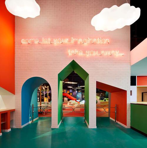 Interior Design by Architects EAT seen at Rabbit Hole Kids Playcentre, Braybrook - Rabbit Hole Children's Play Centre