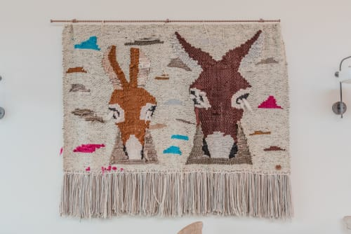 Texican Court Tapestry | Wall Hangings by Indiewalls | Design With Art | Texican Court , A Valencia Hotel in Irving