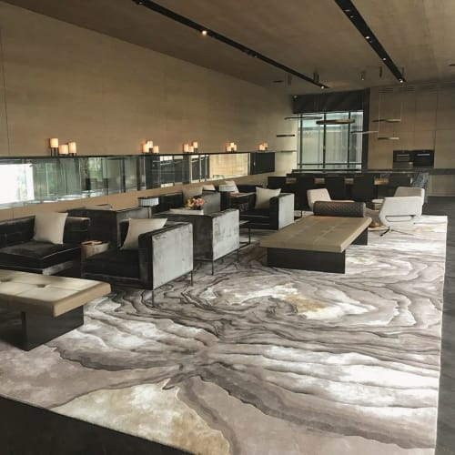 Rugs by Omar Khan Rugs seen at La Vie All Suites Apartment - Asher Rug