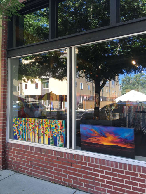 Art Curation by Mary Kollman Fine Art seen at Westward Gallery, Denver - Mary Kollman Fine Art