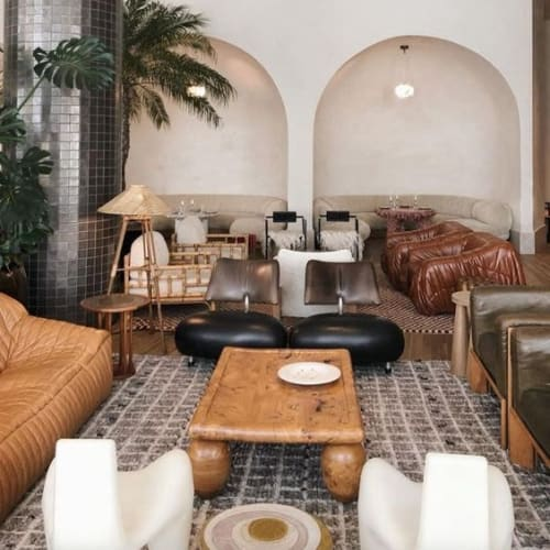 Rugs by Mehraban seen at Santa Monica Proper Hotel, Santa Monica - Amihan, Atlas Collection by Mehraban
