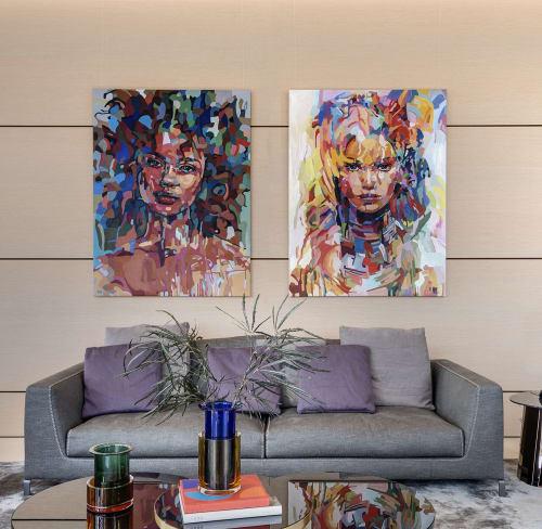 Paintings by Noemi Safir Artist seen at Private Residence, Tel Aviv-Yafo - Original Paintings by Noemi Safir