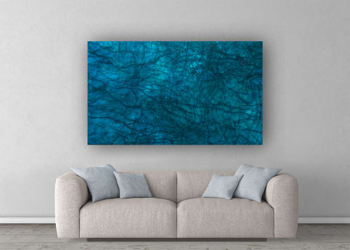 Paintings by Christina Twomey Art + Design seen at Los Angeles Area, Los Angeles - LABRADORITE