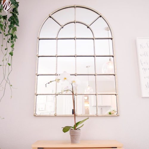 """Wall Hangings by Ballard Designs seen at Sarah Betsy's Home, Loveland - Grand Palais 54"""" Arch Mirror"""