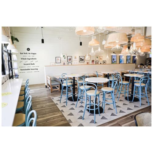 Interior Design by Amy Pigliacampo seen at Modern Market Eatery, Colorado Springs - Restaurant Interior Design
