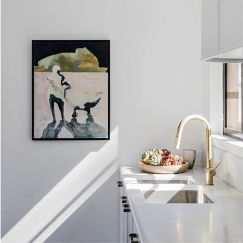 Paintings by Emilie Syme-Lamont seen at Private Residence, Sydney - You Go Your Way, I'll Go Your Way Too