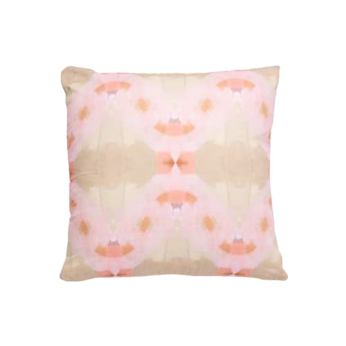 Pillows by Laura Park Designs seen at Tuscaloosa, Tuscaloosa - Orchid Blossom in Pink