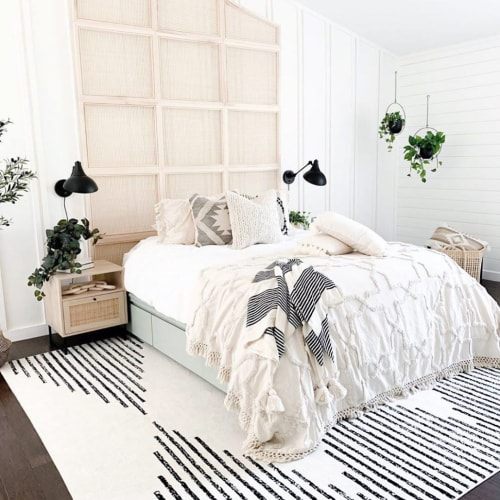 Linens & Bedding by Coastal Boho Studio seen at Private Residence, Savannah - Sandy Bed Spread