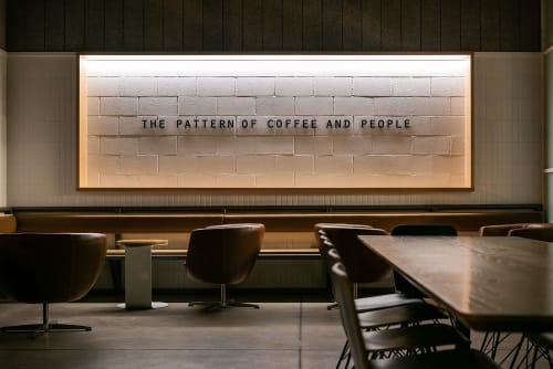 Interior Design by OFFICIAL: Architecture and Furniture seen at Houndstooth Coffee, Austin - Interior & Architecture Design