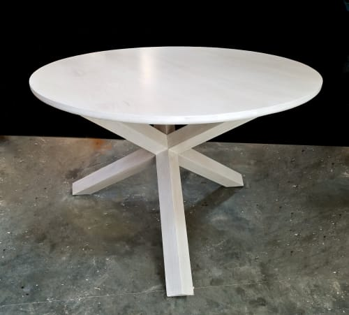 Tables by 60nobscot Custom Furniture seen at Cape Cod studio - Jax Table