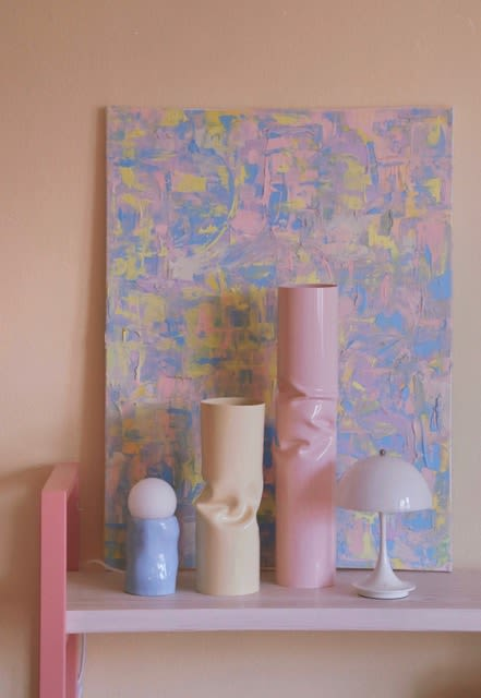 Lamps by Siup Studio seen at Private Residence, Munich - Blue Candy Lamp