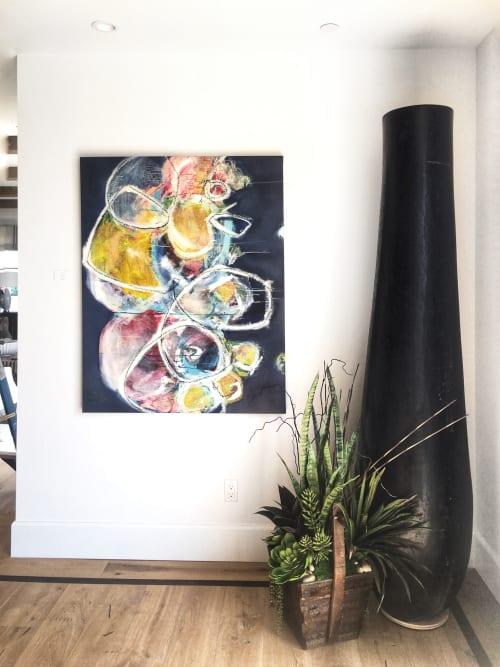 Paintings by Elisa Gomez Art seen at San Juan Capistrano Residence, San Juan Capistrano - Uncovered VIII