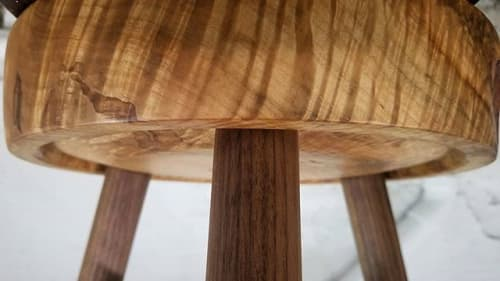 Chairs by Oxford Street Furniture seen at Private Residence | Philadelphia, PA, Philadelphia - Ambrosia Maple Stool