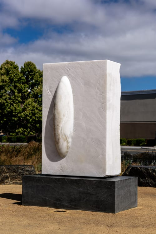 Public Sculptures by Cliff Garten seen at Apple Central And Wolfe Campus, Sunnyvale - New Light