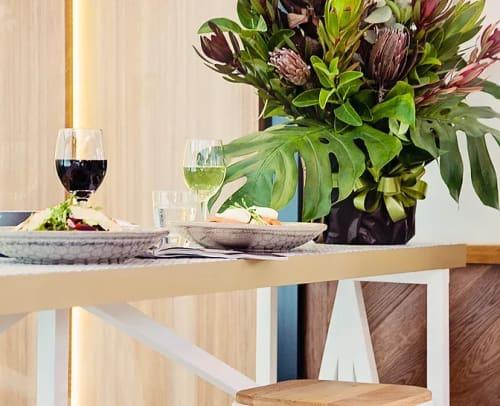 Interior Design by Blank Creatives seen at La Cantina, St Leonards - Interior Design