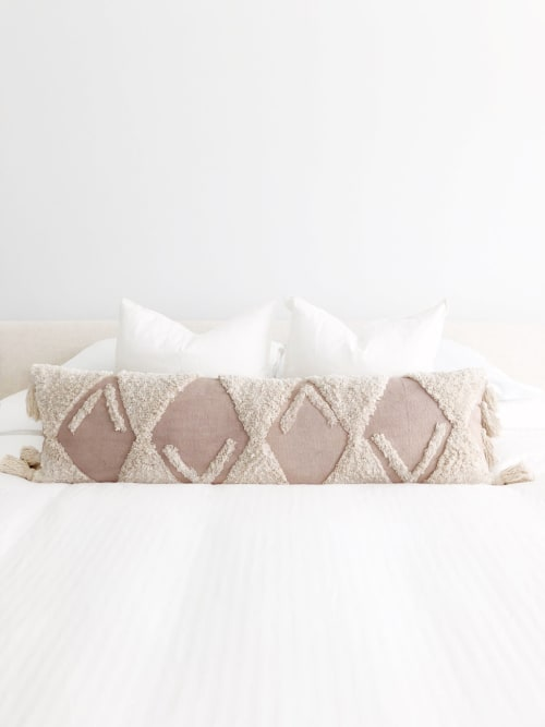 Pillows by Coastal Boho Studio seen at Destin, Destin - Sand Dune Lumbar Pillow Cover