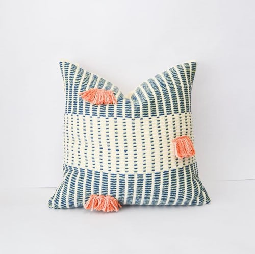 Pillows by Zuahaza by Tatiana seen at Private Residence, Bogotá - Salento Pillow