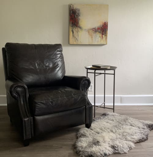 Paintings by Kelly Dillard Art seen at Private Residence, Little Rock - Contemporary Abstract