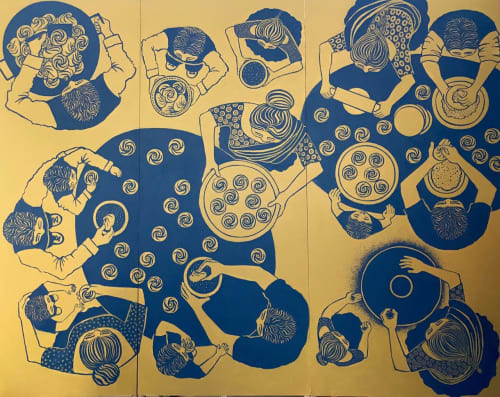 Jen Bloomer of Radici Studios - Murals and Art