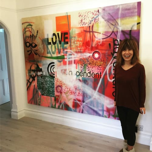Paintings by Barry Wilson Art seen at Private Residence, London - Painting