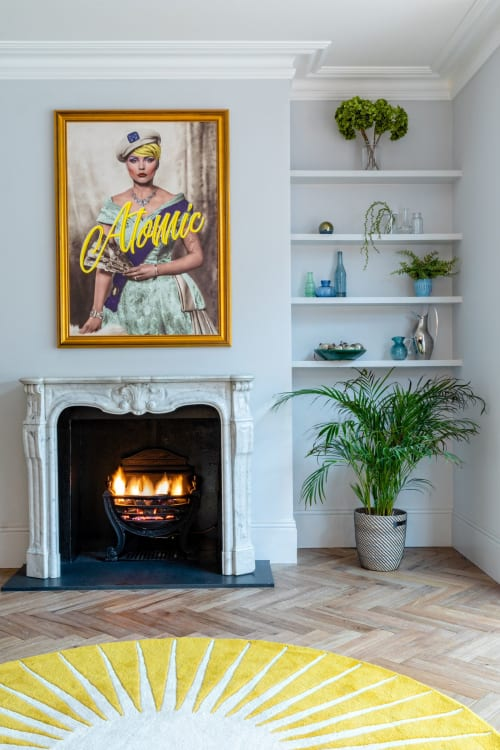 Art & Wall Decor by Light Up North seen at Private Residence, London, London - Blondie