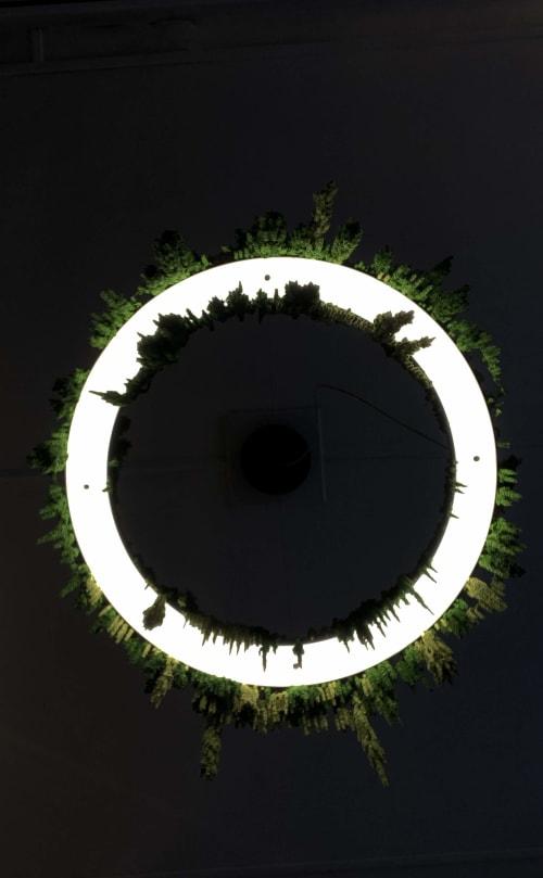 Timeless Halo | Pendants by ILANEL Design Studio P/L | WeWork in Sydney