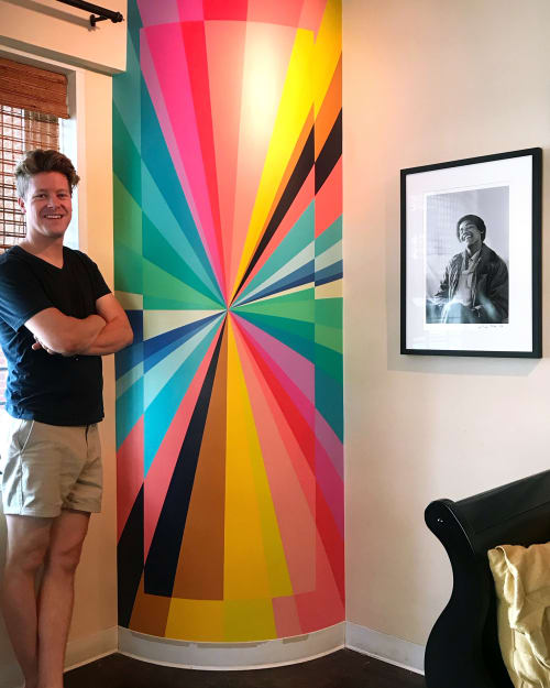 Murals by Andrew Haan (Haanmade) seen at Private Residence, New York - Dex New York