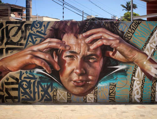 Liam Bononi - Murals and Street Murals