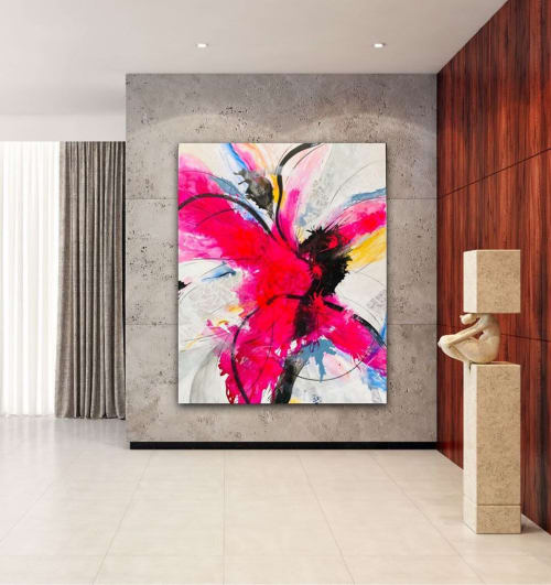Paintings by Shazia Imran seen at Private Residence, The Rocks - Abstract Painting