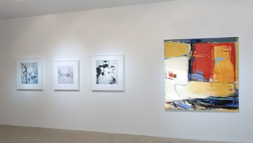 Paintings by Emilia Dubicki seen at Fred Giampietro Gallery, New Haven - Sundrenched