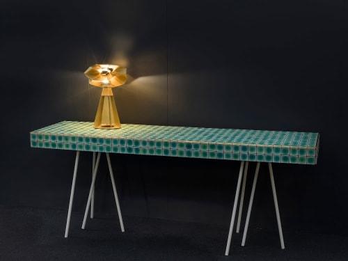 Tiles by Raven seen at Creator's Studio, London - Tiles Table