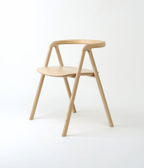 Chairs by Aivan seen at The Finnish Institute in France, Paris - Laakso Chair