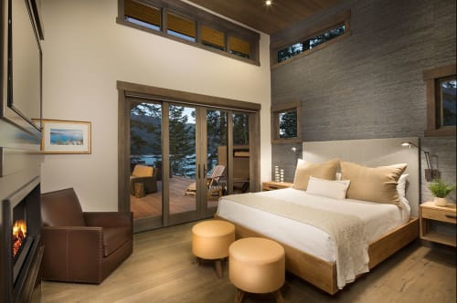 Linens & Bedding by Romo Fabrics seen at Private Residence, Truckee, Truckee - Linens & Bedding