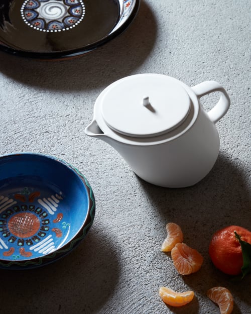 Tableware by Studio Seitz seen at Private Residence, Evolène - Limen Teapot