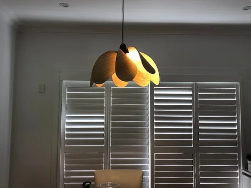 Pendants by Duncan Meerding seen at Private Residence - Propellor Pendant Light