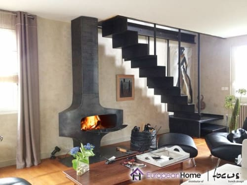 Fireplaces by European Home seen at 30 Log Bridge Rd, Middleton - Heterofocus 1400 Wood Burning Fireplace