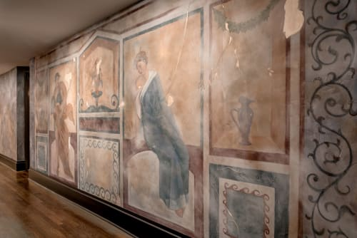 Murals by Nicolette Atelier seen at NERO, Washington - Italian Fresco Mural