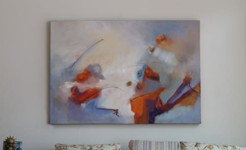 Paintings by Cecilia Arrospide at Private Residence, Miraflores, Comas, Comas - AIRE PRIMAVERAL