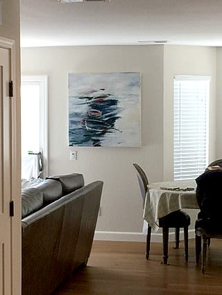 Paintings by Jennifer Perlmutter seen at Lafayette, Lafayette - Docked for The Time Being