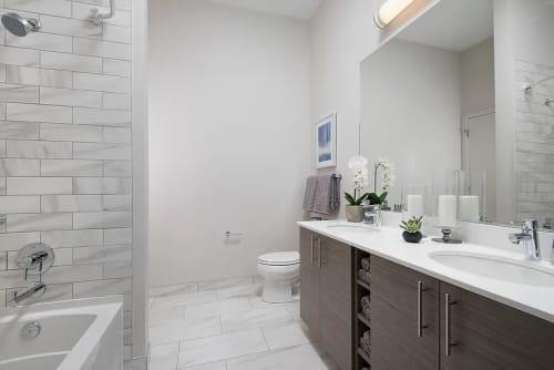 Interior Design by Brianne Bishop Design seen at Luxe on Madison Apartments, Chicago - Interior Design