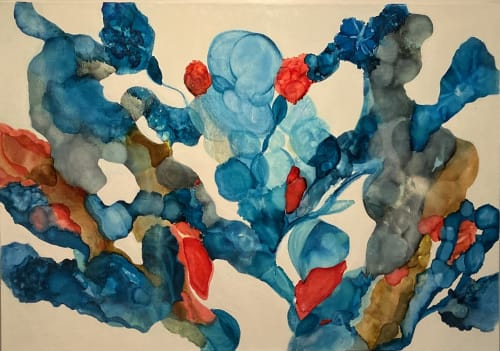 Paintings by Barbara Rubenstein - Perfect Timing