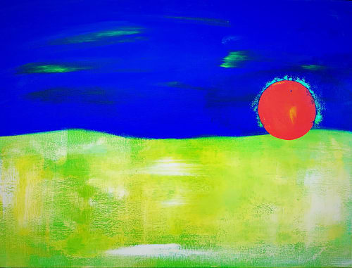 Paintings by ART GUNTHER seen at Private Residence, Blauvelt - World of Hues