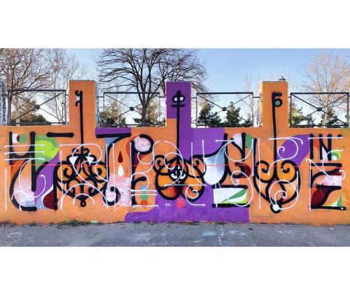Jesus Moreno Yes - Street Murals and Murals