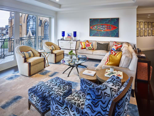 Interior Design by GIL WALSH INTERIORS at Private Residence, Pittsburgh - Pittsburgh Contemporary Apartment