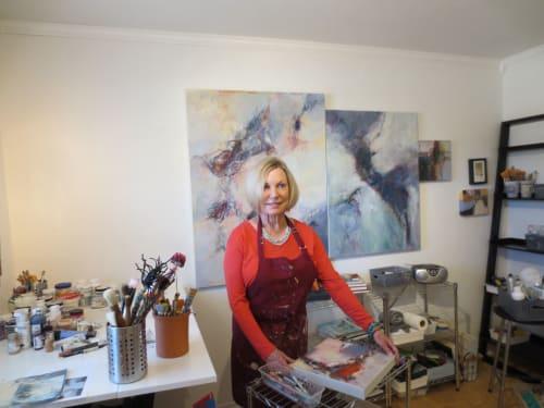 Lynne Buchanan Abstract Art - Paintings and Art